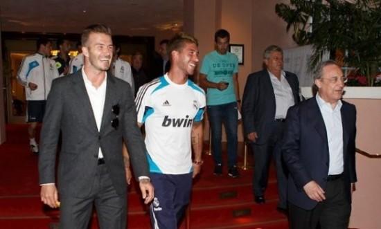 Nyhetsbyrået AP kåret David Beckhams overgang til real Madrid i 2003 til «årets idrettsbegivenhet».