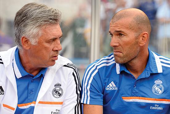 Zinedine Zidane har spilt en viktig rolle i trenerteamet til Ancelotti i Real Madrid. Zidane sier at Ancelotti alltid er villig til å lytte til råd.
