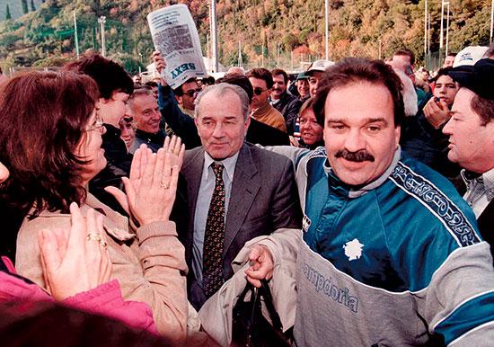 Nå avdøde Vujadin Boskov hadde en lang og fremgangsrik trenerkarriere, men ingenting overgikk ligagullet med Sampdoria.