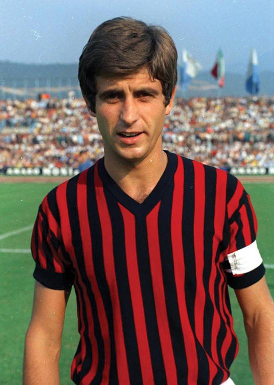 Gianni Rivera var et av Italias beste eksempler på den klassiske trequartista-rollen. 'Gullgutten' herjet på AC Milans midtbane på 60- og 70-tallet, men var alltid omstridt på grunn av sin mangel på defensiv arbeidskraft.