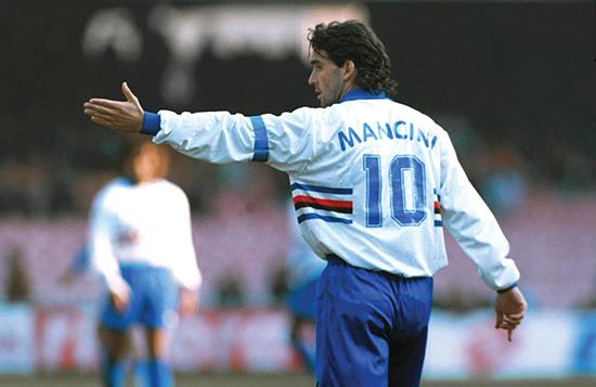 Roberto Mancini var en trequartista i sin tid som spiller, og skrev om rollen da han leverte sin hovedoppgave på Coverciano.