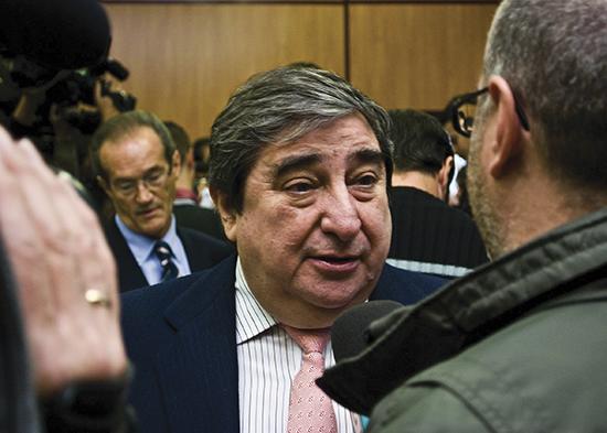 Kongen av kontinuitet: Augusto César Lendoiro, president i Deportivo frå 1988 til 2013.