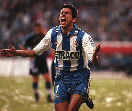 Nederlandske Roy Makaay var den avgjerande målscoraren då klubben vann La Liga i 1999/2000.