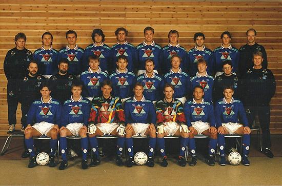 Åge Hareide samlet et angrepslag som tok Tippeligaen med storm i 1995. Ole Gunnar Solskjær, Petter Rudi,  Arild Stavrum, Ole Bjørn Sundgot og Daniel Berg Hestad var fryktet av de fleste.
