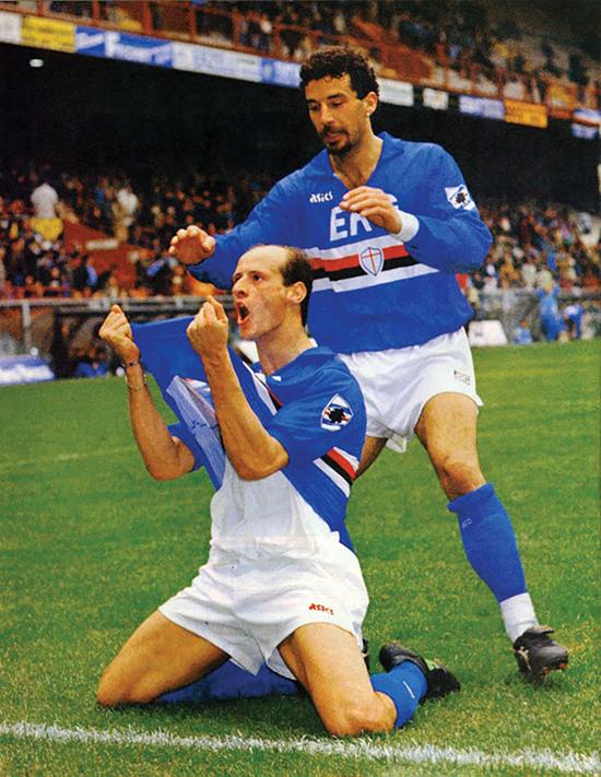 Det gikk kun 20 minutter før Sampdoria med Attilio Lombardo og Gianluca Vialli ledet 3-0 mot Rosenborg i 1991. Det ble en viktig lærdom for Rosenborg i det som skulle bli et eventyr.