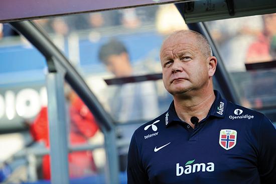 Fotball , Privatlandskamp , Menn 01.06.16 , 20160601 Norge - Island  Norges trener , Per-Mathias Høgmo Foto: Sjur Stølen / Digitalsport